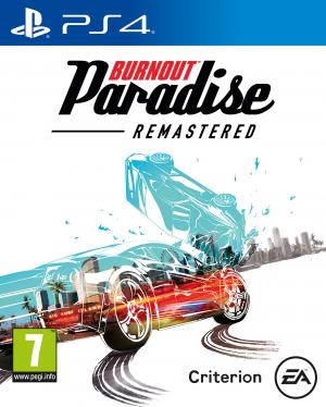 burout paradise cover