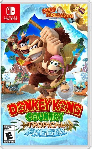 donkey kong tropica freeze