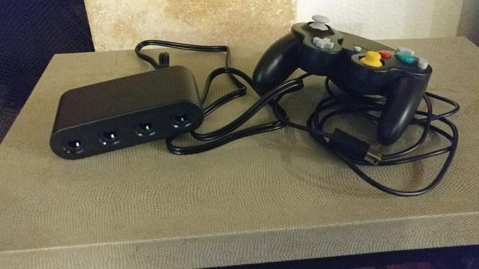 wii u gamecube adapter