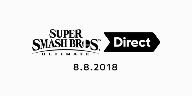 super smash bros. ultimate direct 8-8-18