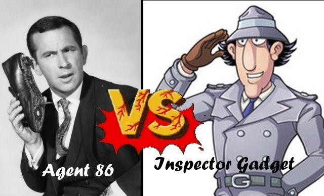 maxwell smart inspector gadget
